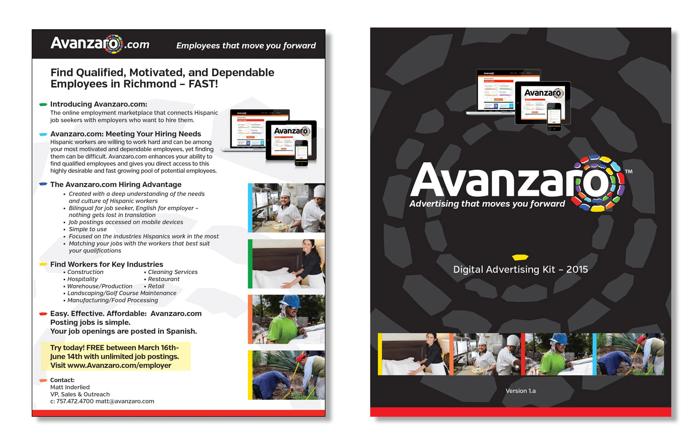 <p>Collateral Material / Sales Sheets / Ad Kit</p>