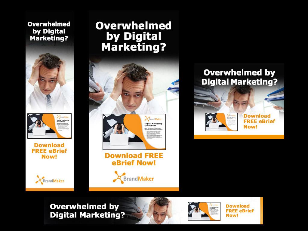 <p>Banner ad campaign design for brief series</p>