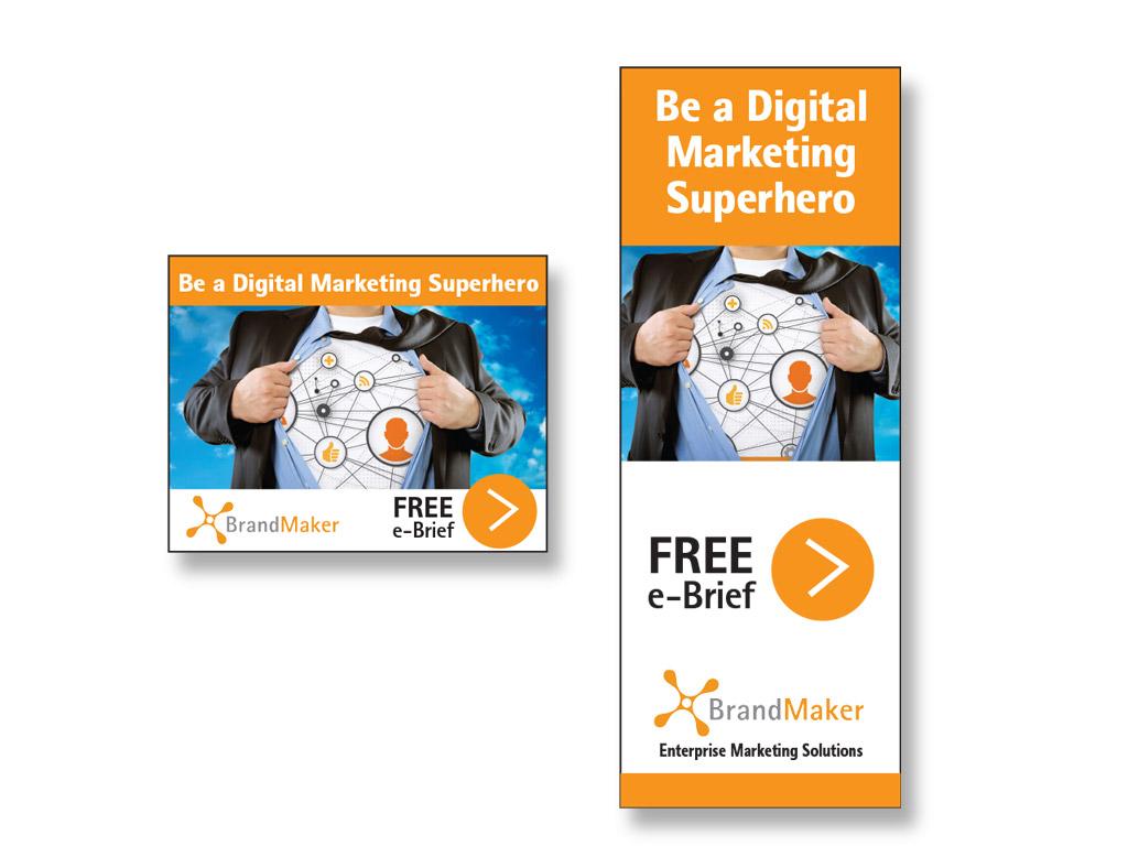 <p>Corporate brand banner ad campaign</p>