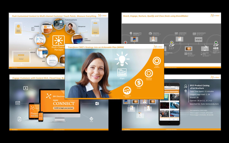 <p>New series of 4 sales presentations (story + design)</p>