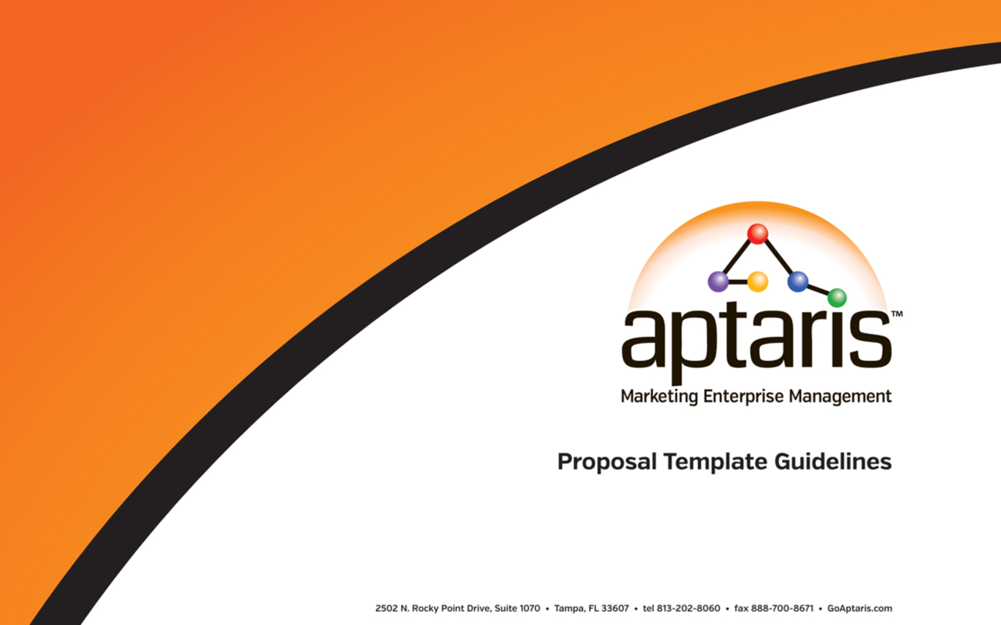 <p>Proposal look and feel and templates with guidelines</p>