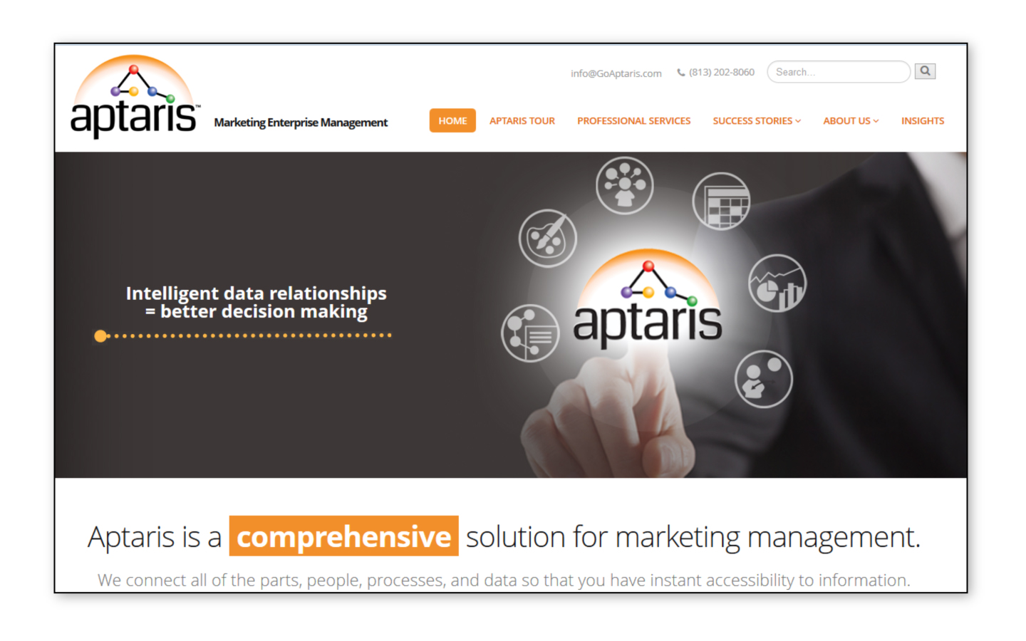 <p>New website and site management</p>