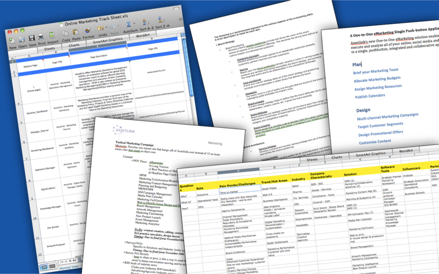 <p>Visual audit and design strategy, timeline and content development plan.</p>