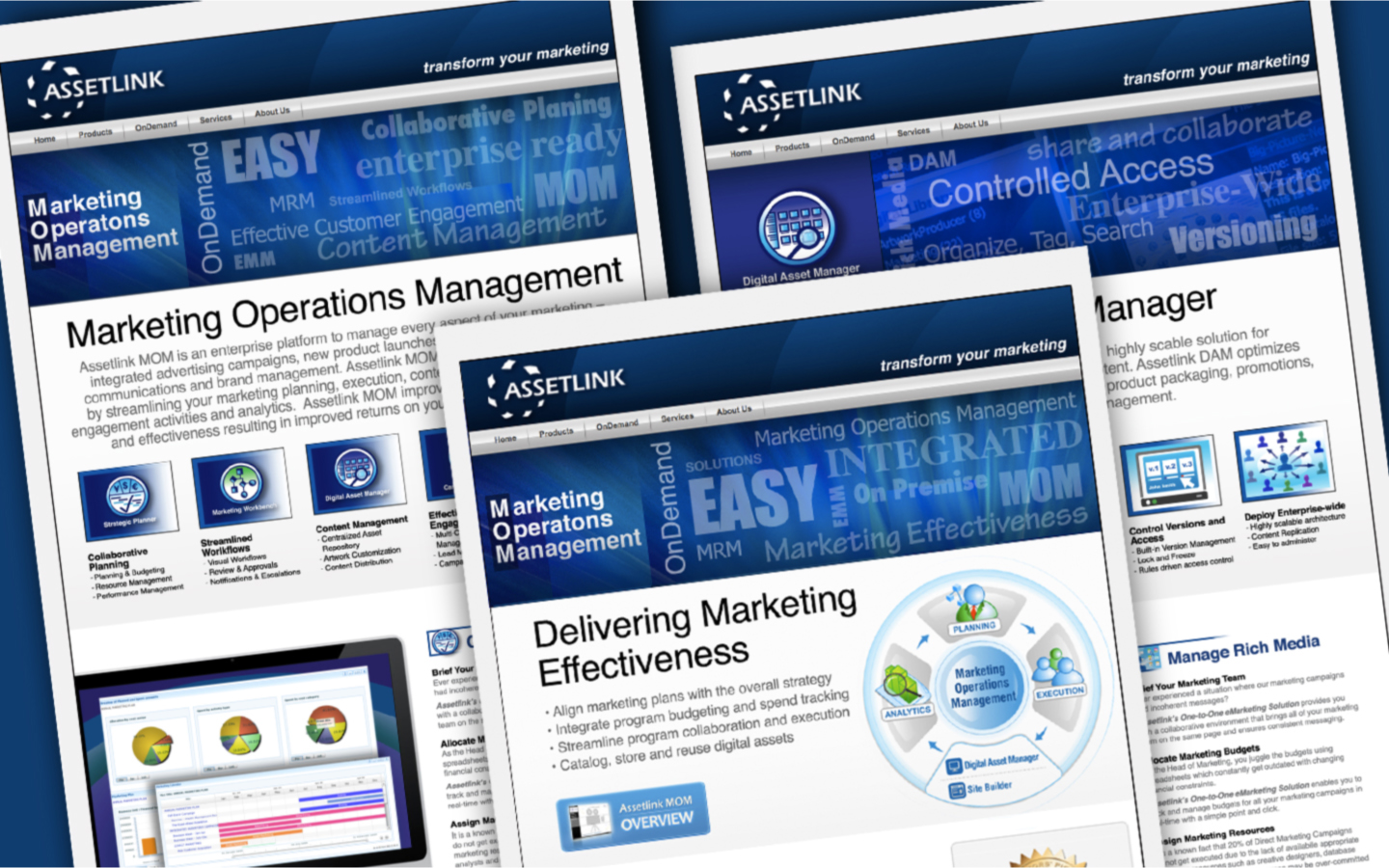 <p>Website content and design transition plan was developed.</p>