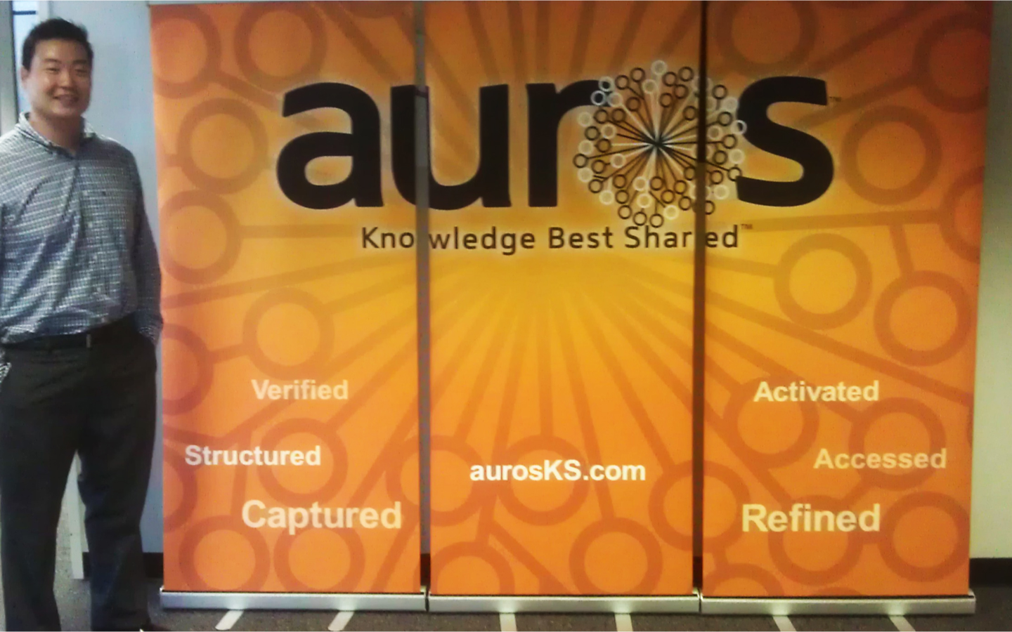 <p>Tradeshow signage and collateral</p>