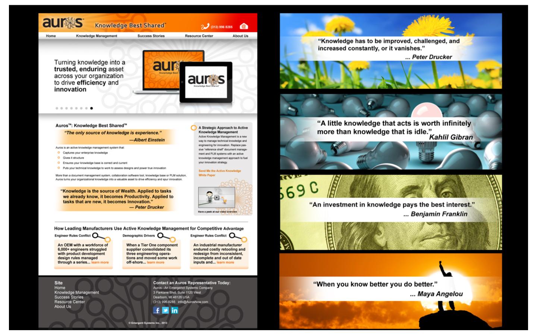 <p>Website design and writing</p>