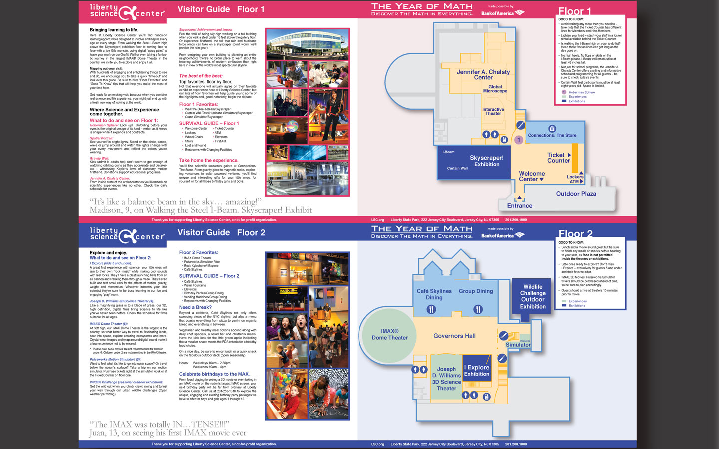 <p>Visitor guide map design and concept</p>