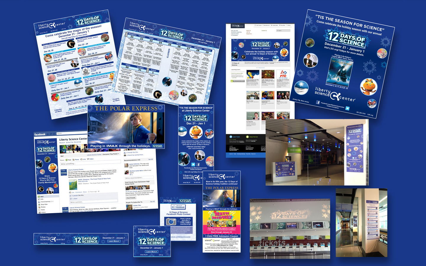 <p>Full branding, logo, and campaign materials</p>
