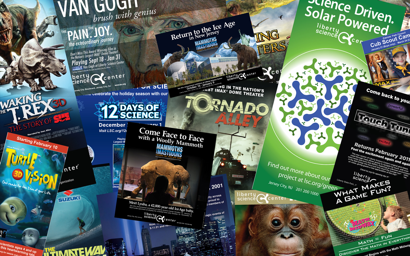<p>Movies and special events posters and materials</p>