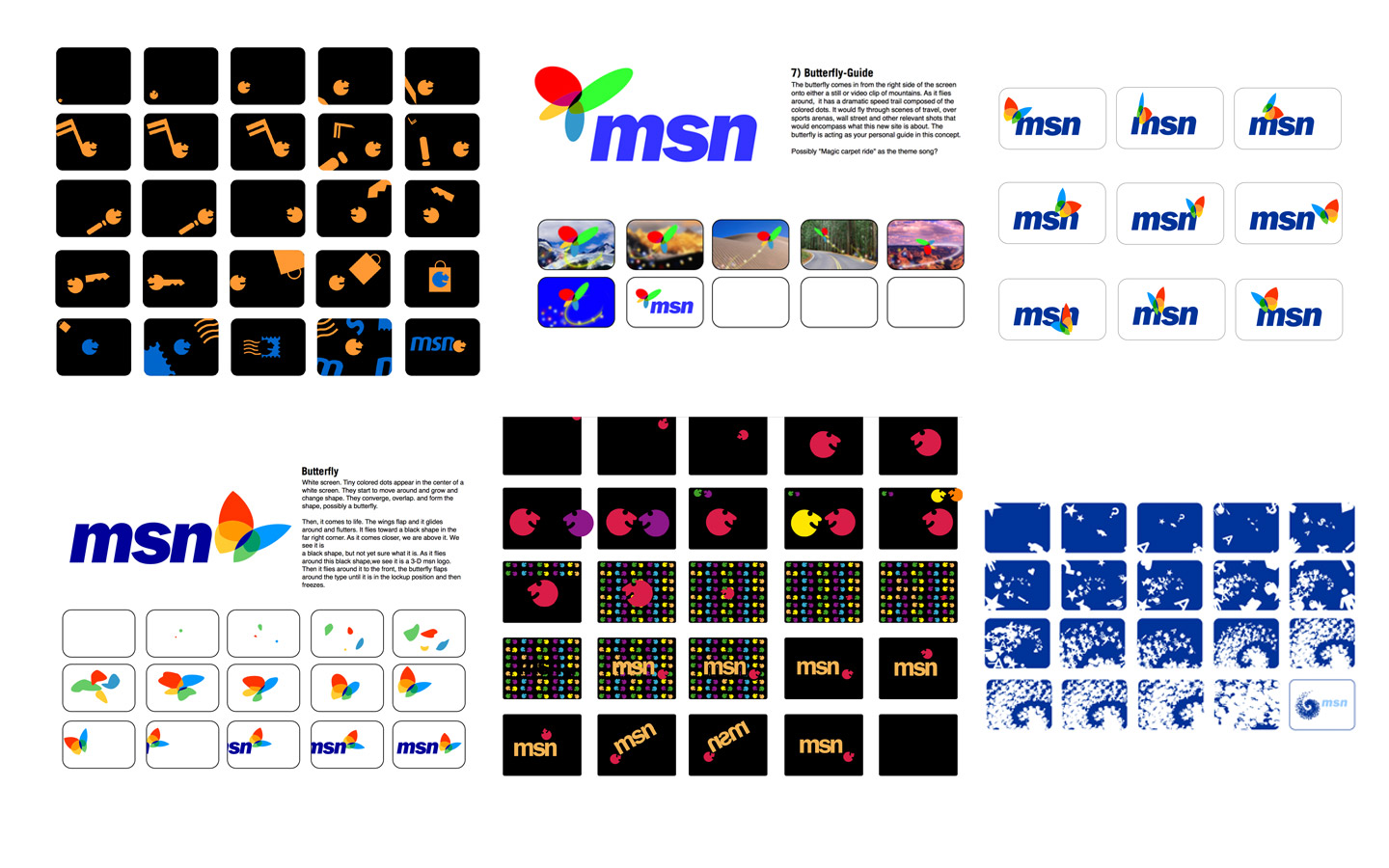 <p>Animation and active branding concepts for each design option tested.</p>