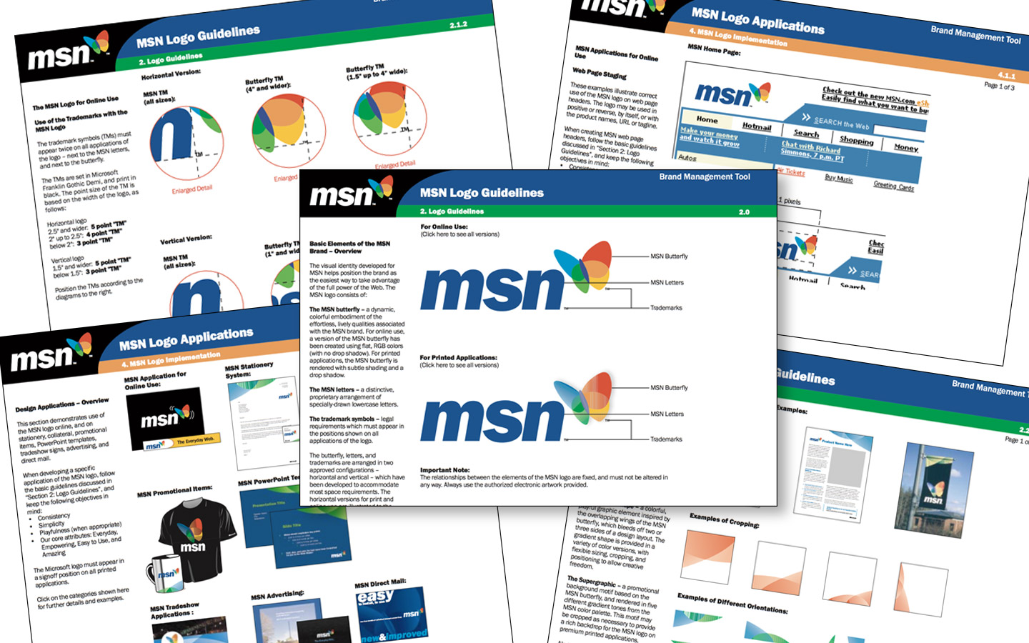 <p>Brand Guidelines system</p>