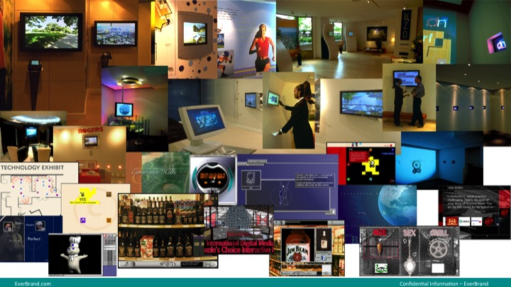 <p>Virtual store research solutions, so kiosk development, mobile apps, real estate sale kiosks, interactive soccer stadium billboards, smart home technology with IBM partnership, and many more.</p>