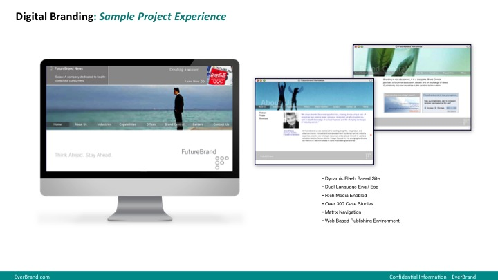 <p>FutureBrand website design</p>