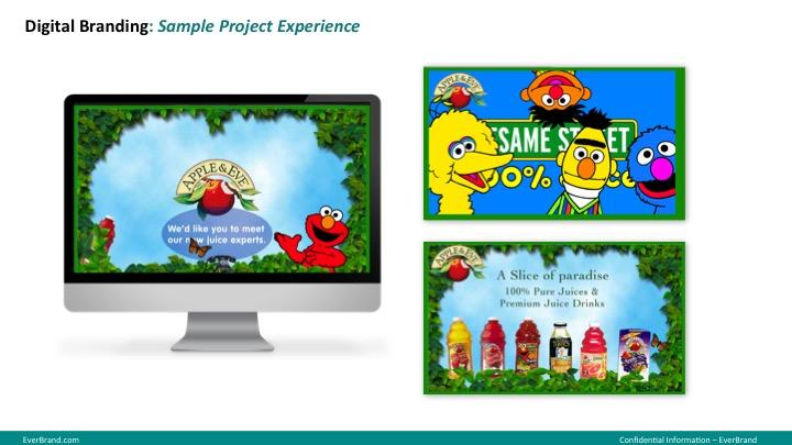 <p>Apple &amp; Eve Website</p>