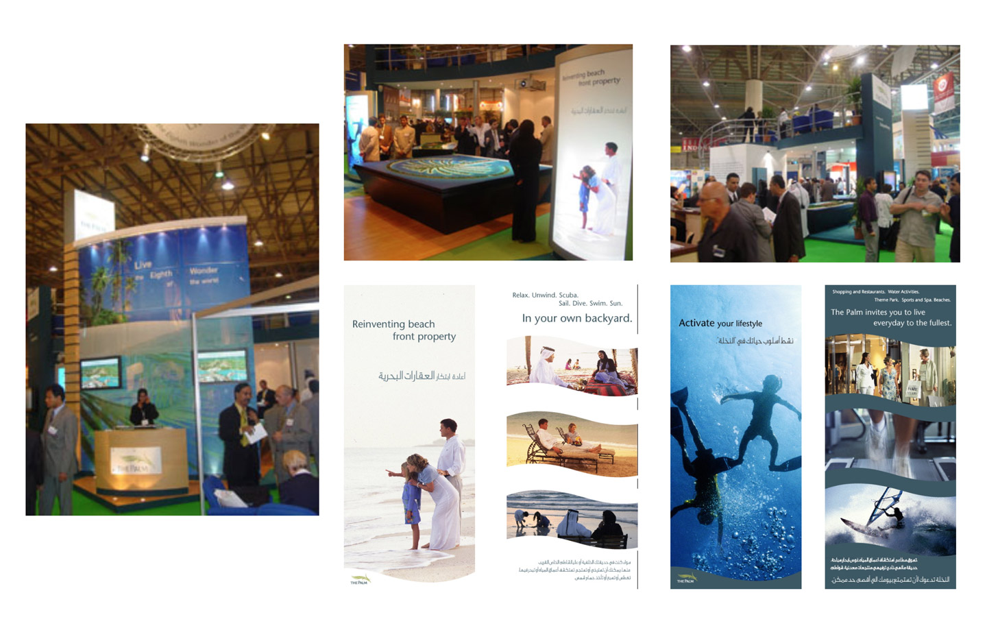 <p>Convention Center Graphics and Sales Materials</p>