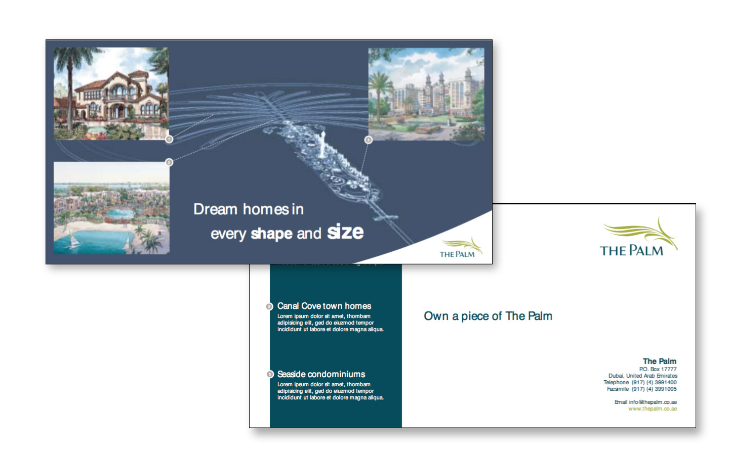 <p>Sales Collateral and advertising</p>